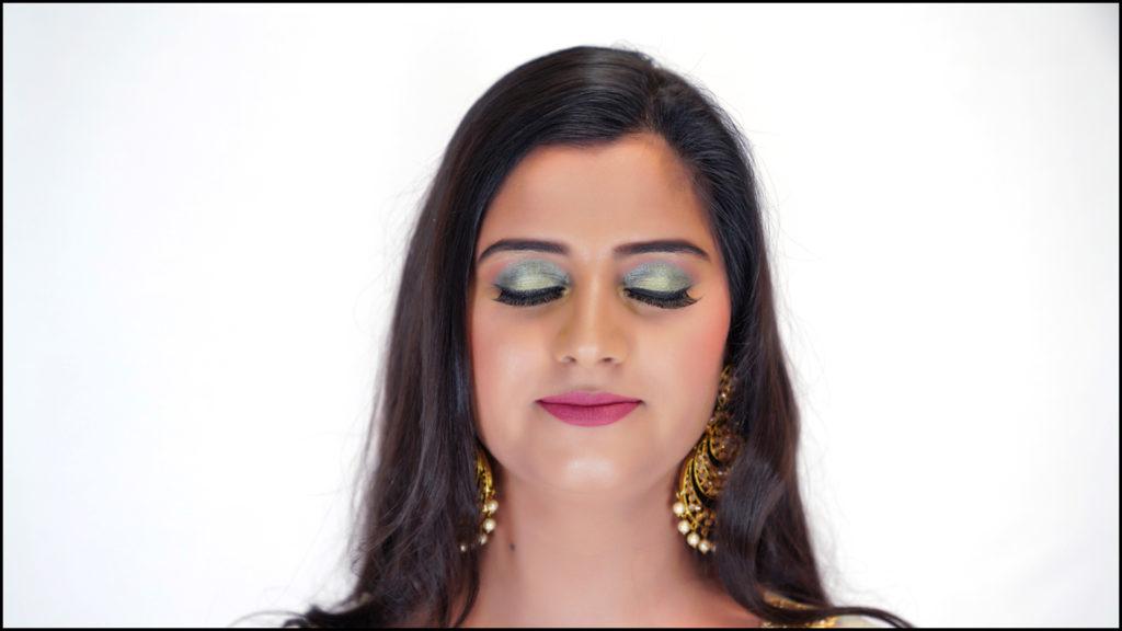 Non Bridal Makeup Beautiful Mint