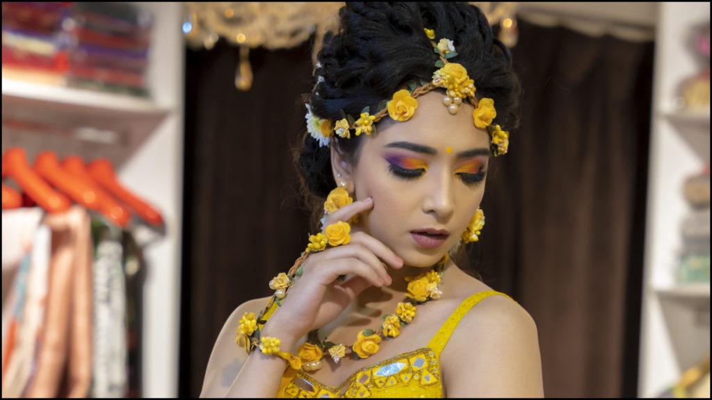Pithi Bridal Makeup